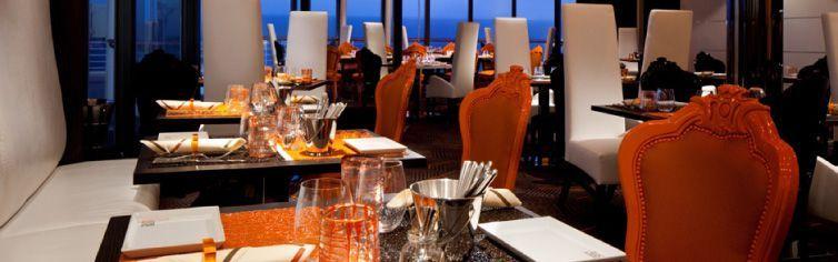 Restaurant du bateau de croisière Celebrity Summit