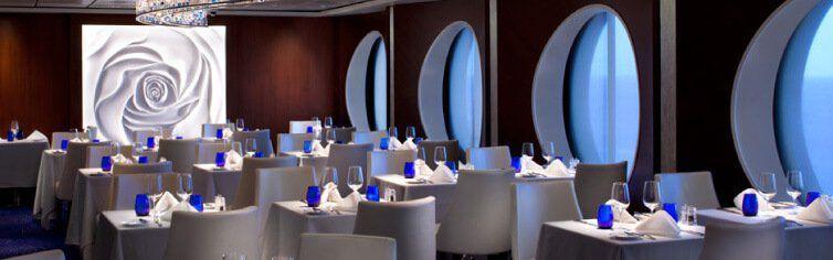Restaurant du bateau de croisière Celebrity Constellation