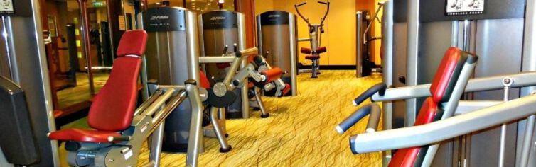 Salle de fitness du bateau de croisière Celebrity Xpedition