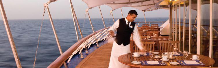 Restaurant du bateau de croisière Silver Wind