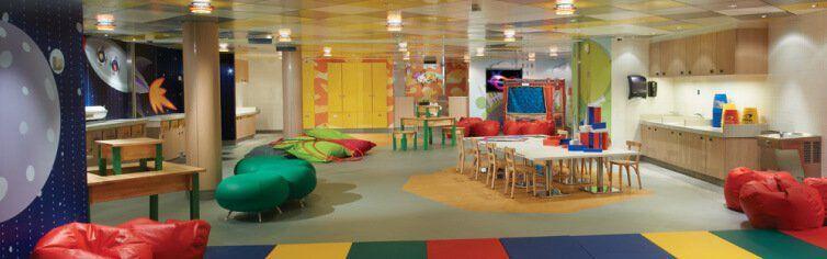Club dédié aux enfants du bateau de croisière Norwegian Breakaway