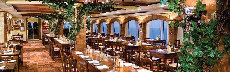 Restaurant La Cucina du bateau de croisière Norwegian Gem
