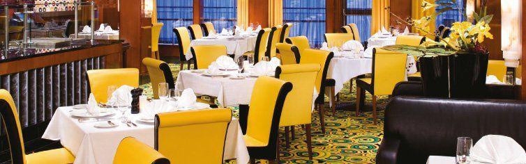 Restaurant du bateau de croisière Norwegian Jade