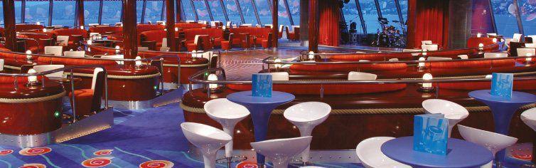 Bar du bateau de croisière Celebrity Jewel