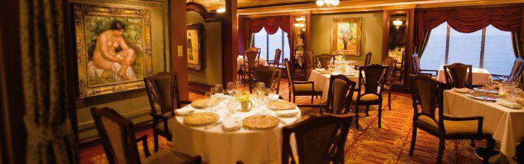Restaurant du bateau de croisière Norwegian Pearl