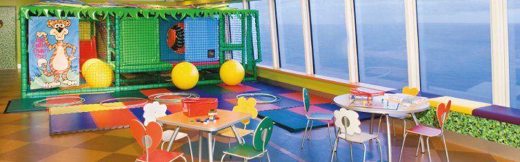 Club pour enfants du bateau de croisière Norwegian Sky