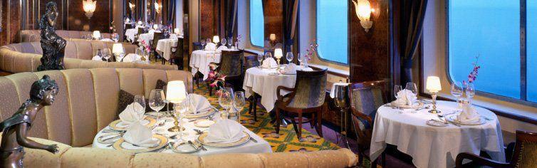 Restaurant du bateau de croisière Norwegian Sky