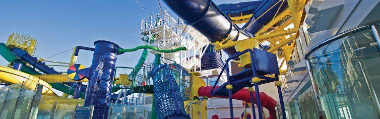 Club dédié aux enfants du bateau de croisière Norwegian Escape