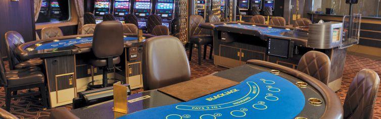 Casino du bateau de croisière Seven Seas Voyager