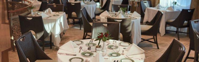 Restaurant du bateau de croisière Seven Seas Voyager