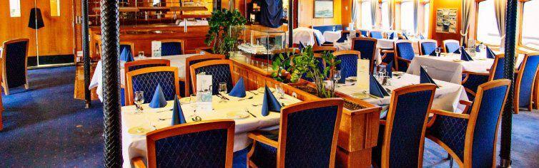 Restaurant du bateau de croisière MS Lofoten