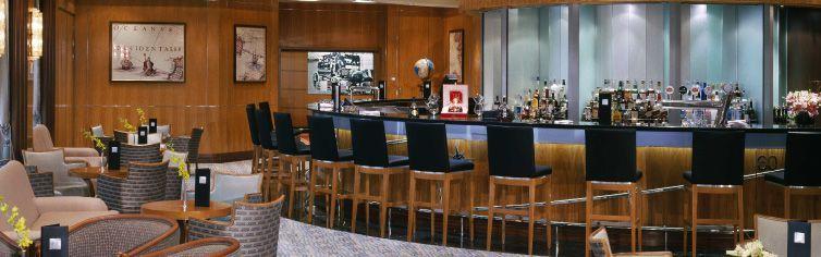 Bar du bateau de croisière Queen Mary 2