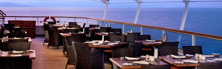 Restaurant du bateau de croisière Seabourn Quest