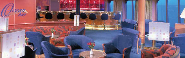 Bar du bateau de croisière MS Amsterdam
