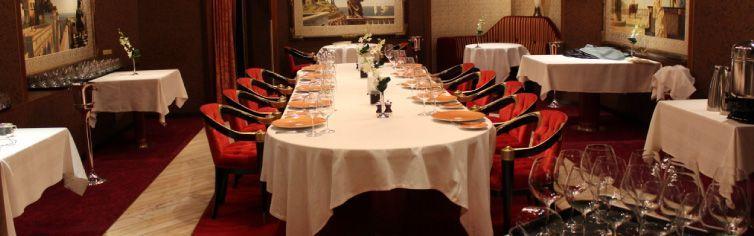 Restaurant du bateau de croisière MS Amsterdam