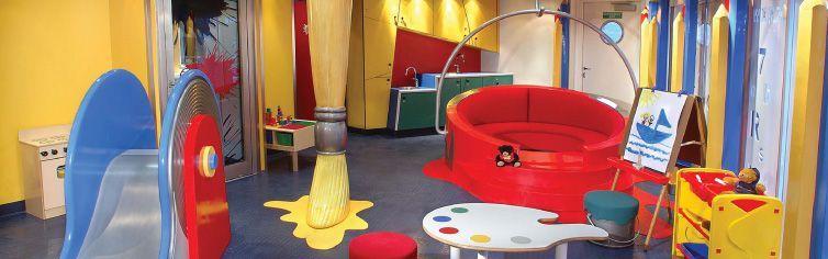 Club dédié aux enfants du bateau de croisière MS Maasdam