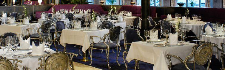 Restaurant du bateau de croisière MS Oosterdam
