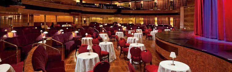 Théâtre du bateau de croisière MS Rotterdam