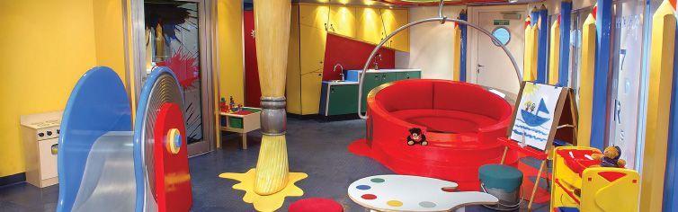 Club dédié aux enfants du bateau de croisière MS Volendam