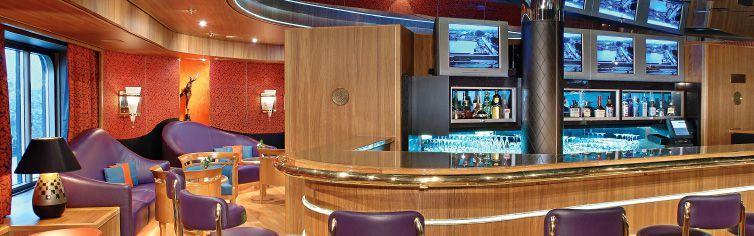 Bar du bateau de croisière MS Westerdam