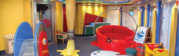 Club dédié aux enfants du bateau de croisière MS Westerdam