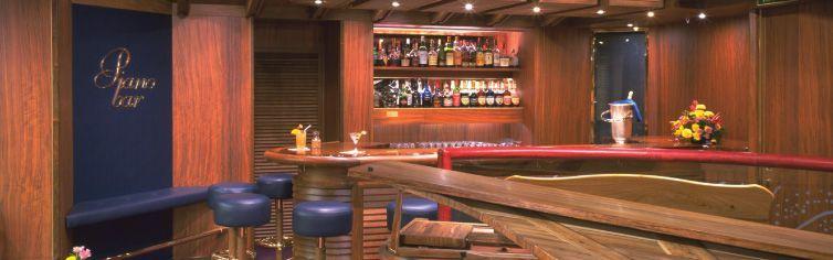 Bar du bateau de croisière Ms Zaandam