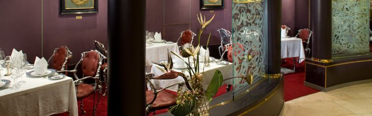 Restaurant du bateau de croisière MS Zuiderdam