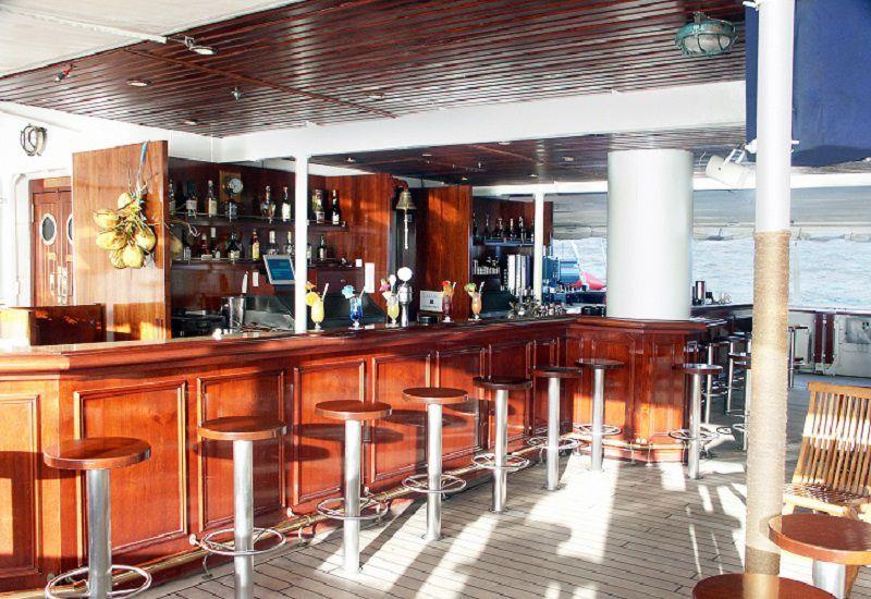 Bar Tropical du bateau de croisière Royal Clipper