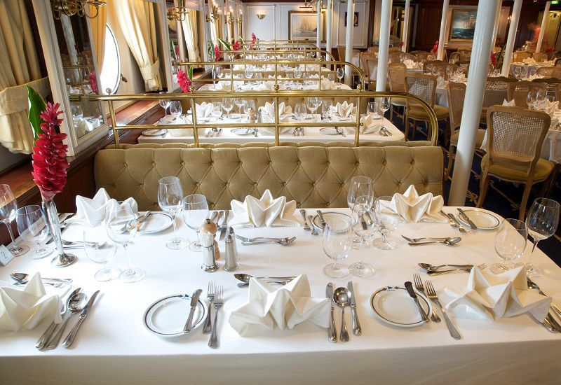 Restaurant du bateau de croisière Star Flyer