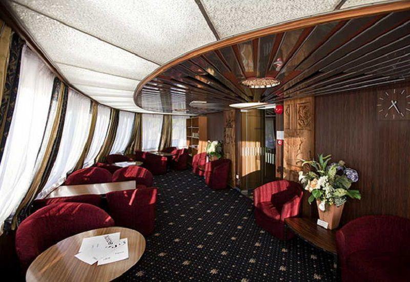 Salon à bord du Ms Lev Tolstoï