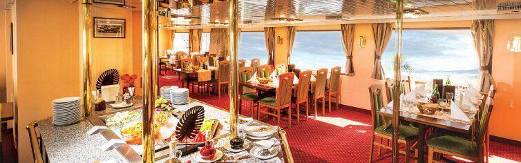 Restaurant du bateau de croisière MS Florentina