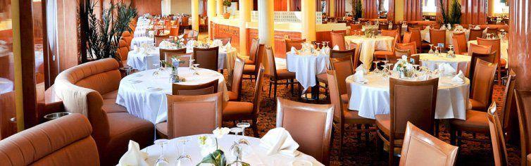 Restaurant du bateau de croisière MSC Sinfonia