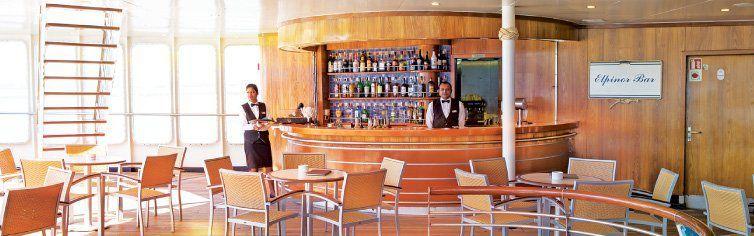 Bar du bateau de croisière MS Astoria