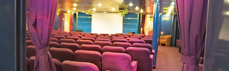 Théâtre du bateau de croisière MS Astoria