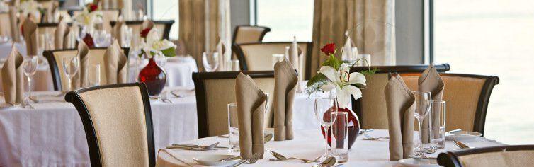 Restaurant du bateau de croisière Amadeus Brilliant