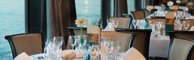 Restaurant du bateau de croisière MS Amadeus Elegant