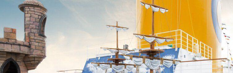 Club enfants du bateau de croisière Costa Fascinosa