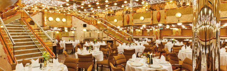Restaurant du bateau de croisière Costa Favolosa