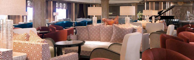 Restaurant du bateau de croisière Silver Muse