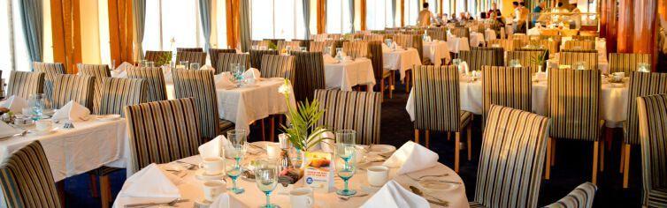 Restaurant Blu du bateau de croisière Celestyal Crystal