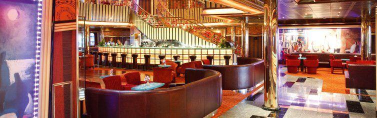 Bar du bateau de croisière Costa Pacifica