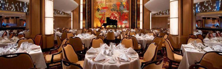 Restaurant du bateau de croisière Symphony of the Seas