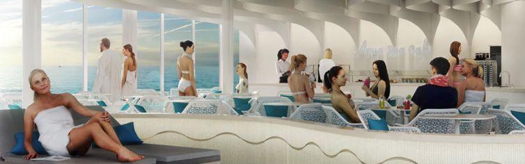 AquaBar du bateau de croisière Celebrity Edge