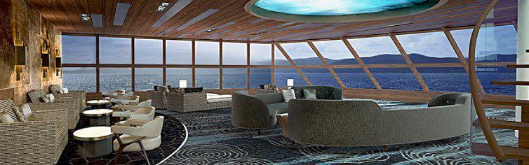 Bar du bateau de croisière Norwegian Bliss