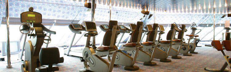 Salle de sport du bateau de croisière Costa Magica