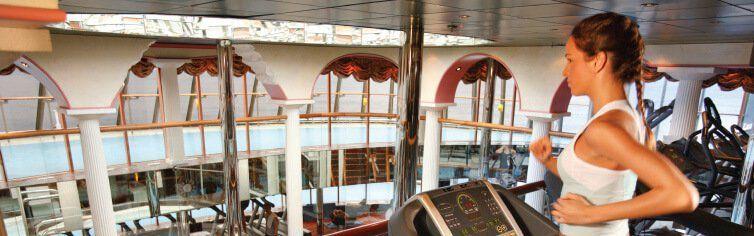 Salle de port du bateau de croisière Costa Mediterranea