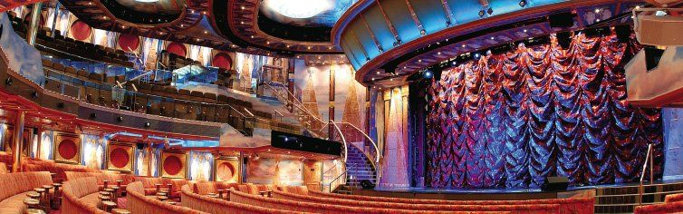 Théâtre du bateau de croisière Costa Mediterranea