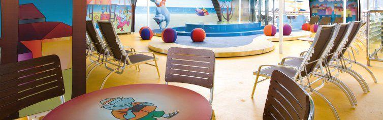 Club enfant du bateau de croisière Costa Atlantica
