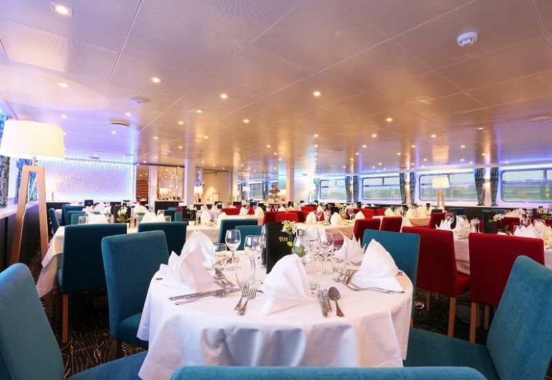 Restaurant du Ms Elbe Princesse