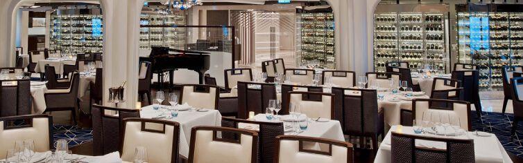 Restaurant du bateau de croisière Seabourn Ovation